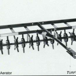 tow behind airator